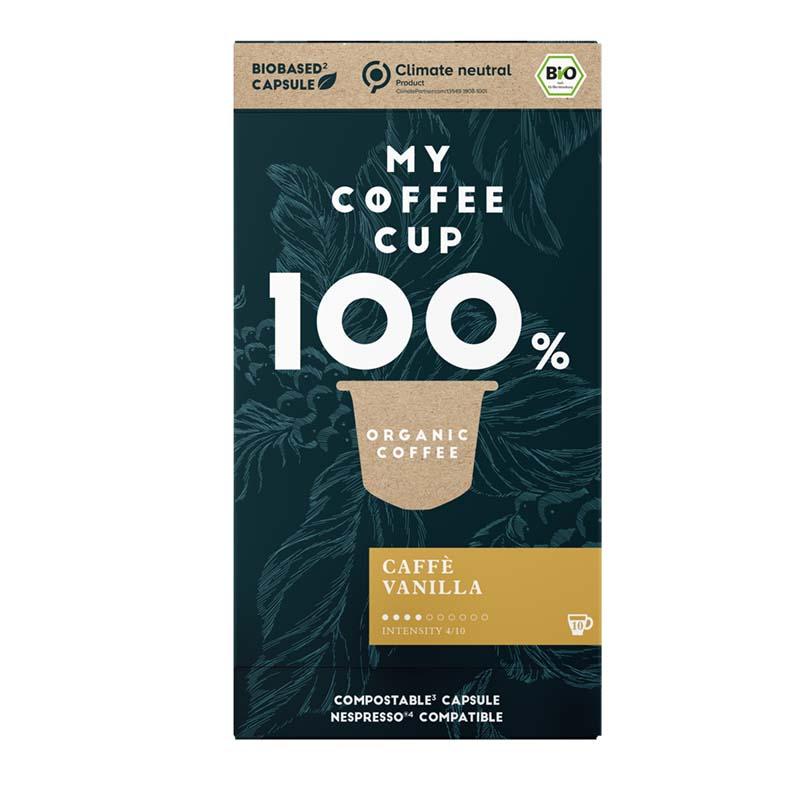 Nespresso®-kompatible BIO-Kapseln | Caffé Vanilla